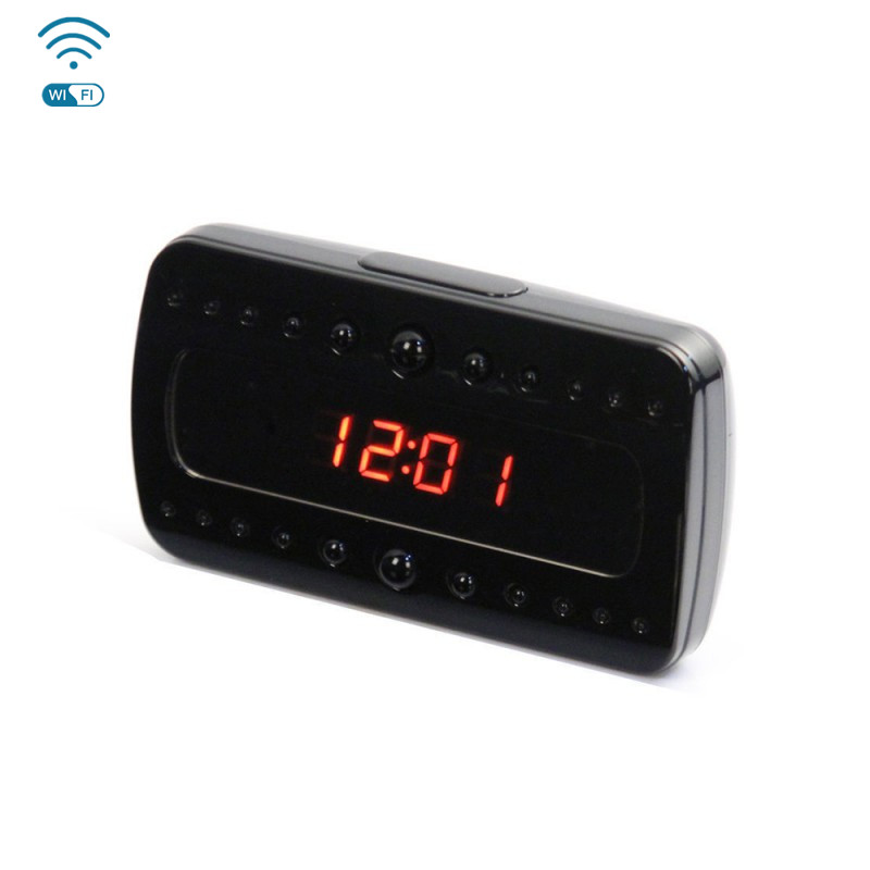 WF-V26 HD Wifi Clock Hidden Camera Night Vision 1920*1080