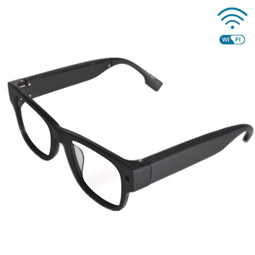 G3 720P WiFi Live Streaming Video Glasses with Touch Control