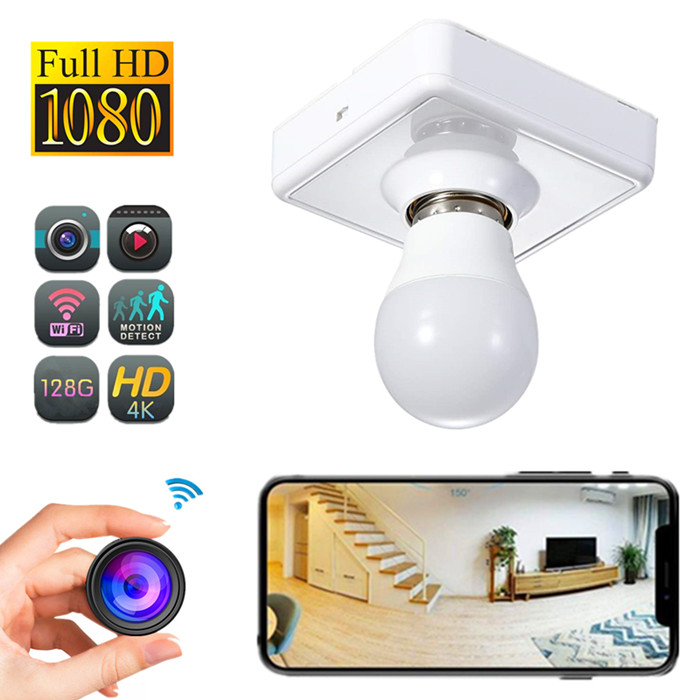 B071 1080P HD Wi-Fi light bulb security camera