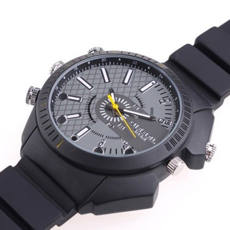 CW-300 IR Night Vision Spy Watch Camera 1920*1080