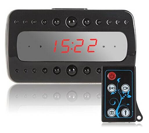 V26 HD Hidden Camera Clock Camera Nigiht Vision 1920*1080