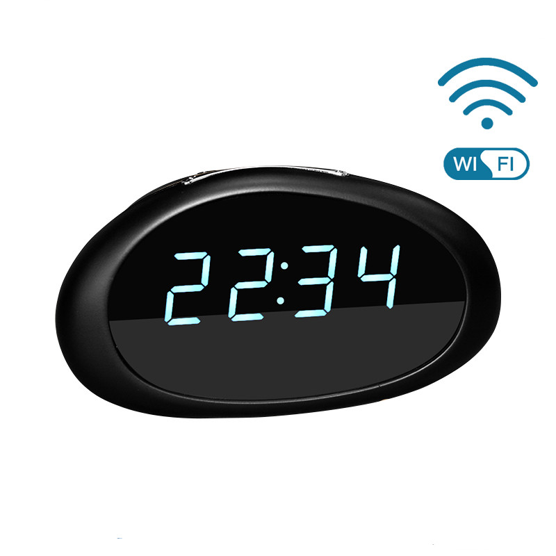 WF-B108 Multi-function Home Security Wifi 1080P Video Camera Clock