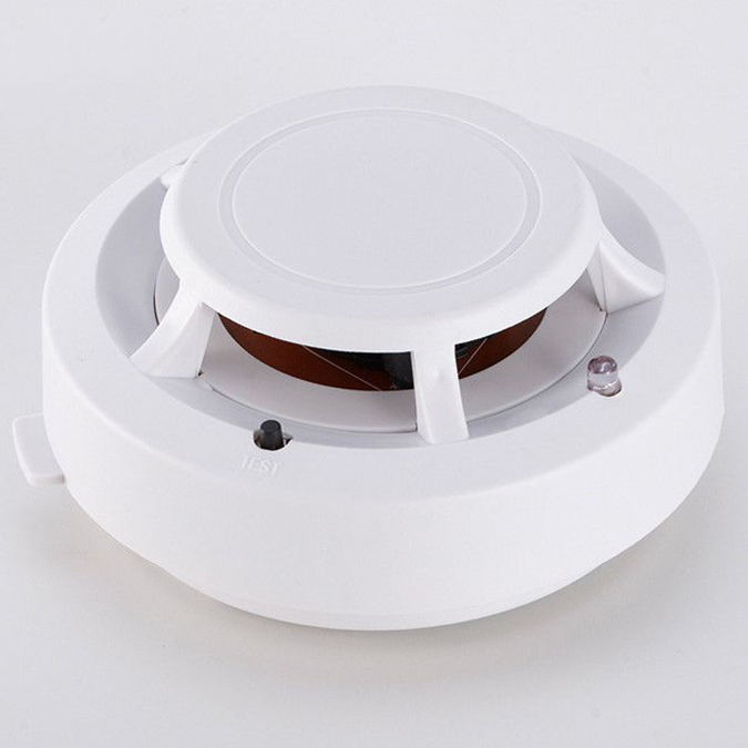 WF34 4K Wireless Hidden Camera Smoke Detector