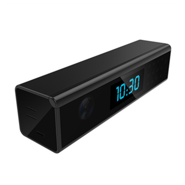 WF-C108 New HD 1080P P2P Mini Wifi Desk Clock Spy Camera