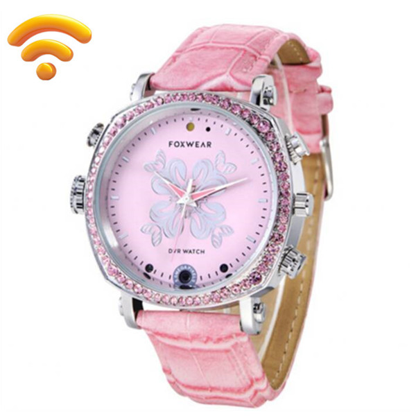 F26 720P HD Spy Hidden Wireless Wifi Camera Watch