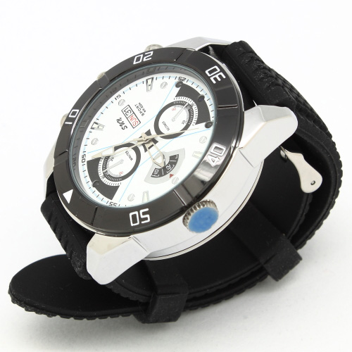 CW-720B HD 20P Automatic IR Night Vision Spy Watch Camera DVR with 500MA Battery and TF card slot