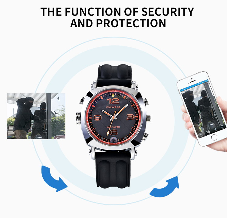F25 WiFi Sport Action watch camera