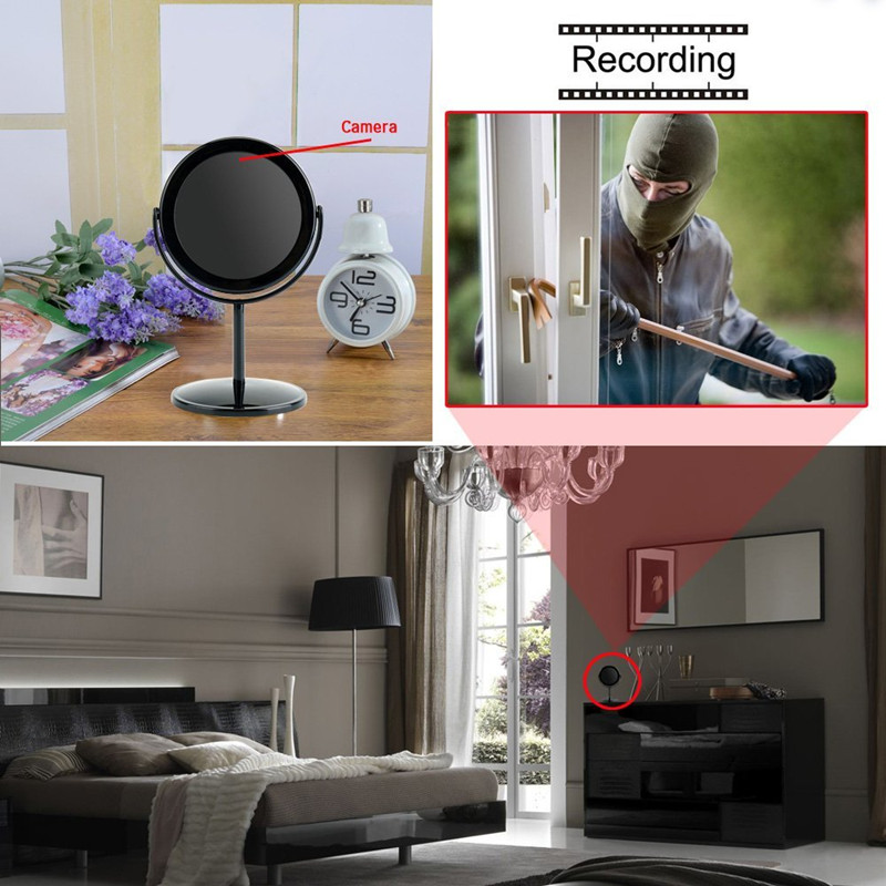 HD-MW6 Mirror hidden Camera  Motion Detection Video Recorder