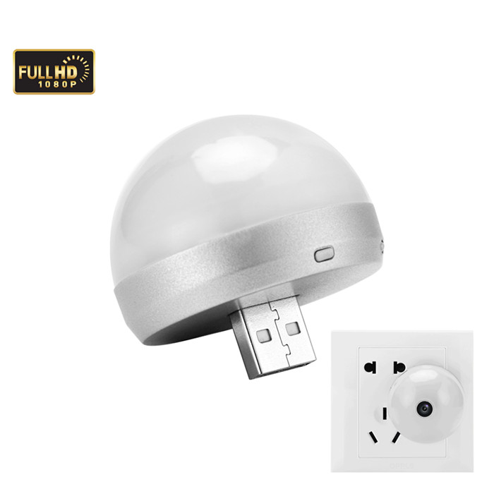 YD-29 HD 1080P Portable USB Night light spy camera motion detection