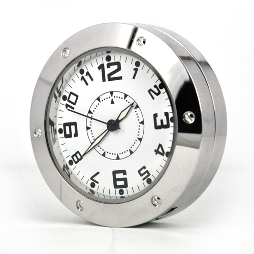 Mini-520 Mini Table Clock Camera with Motion Detection