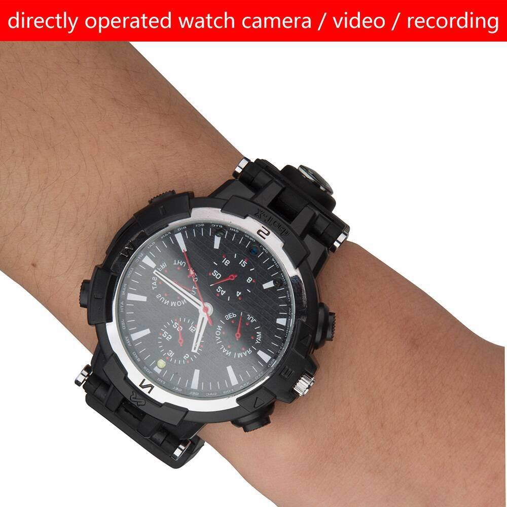 CW-Y31 Night Vision 720P HD Spy Hidden Wireless Wifi Camera Watches