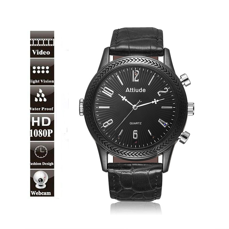 SA-27 Micro 1080P Spy Watch Camera night vision