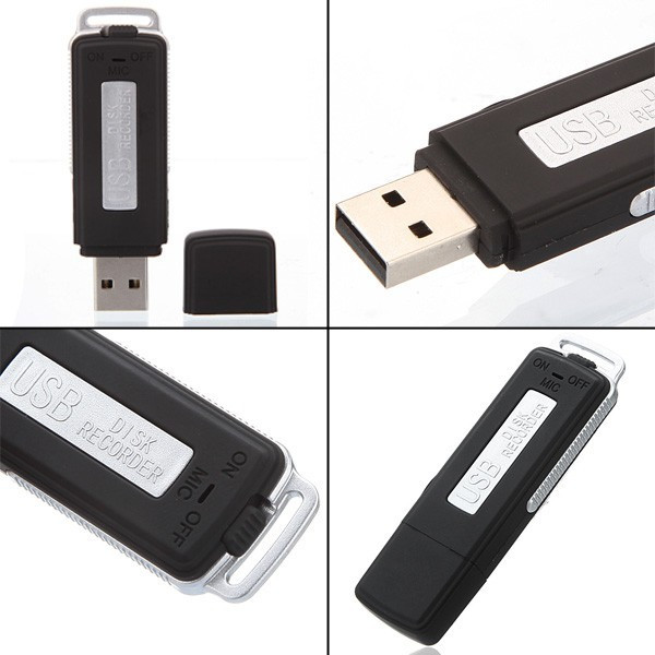 UR-08 Keychains digital voice recorder usb flash drive
