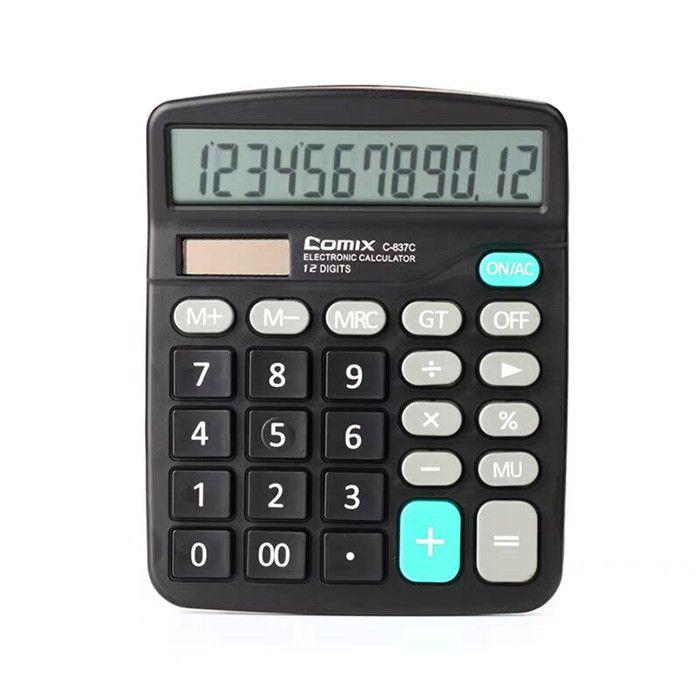 V011 Desktop spy calculator with hidden wifi security camera