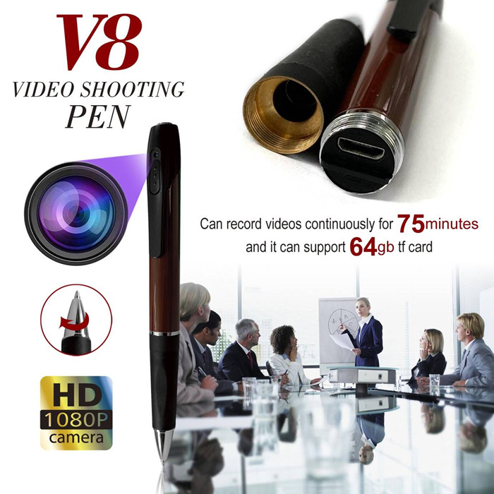 HD 1080P Invisible Hidden Camera Long Time Recording