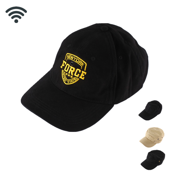 WF-CV10 720P Wearable Spy Camera wifi in Baseball Cap
