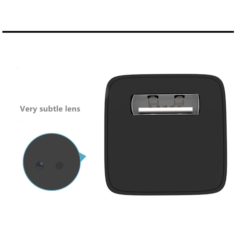 M1 1080P USB Charger Spy Hidden Camera motion detection Adapter Undetectable Security Camera