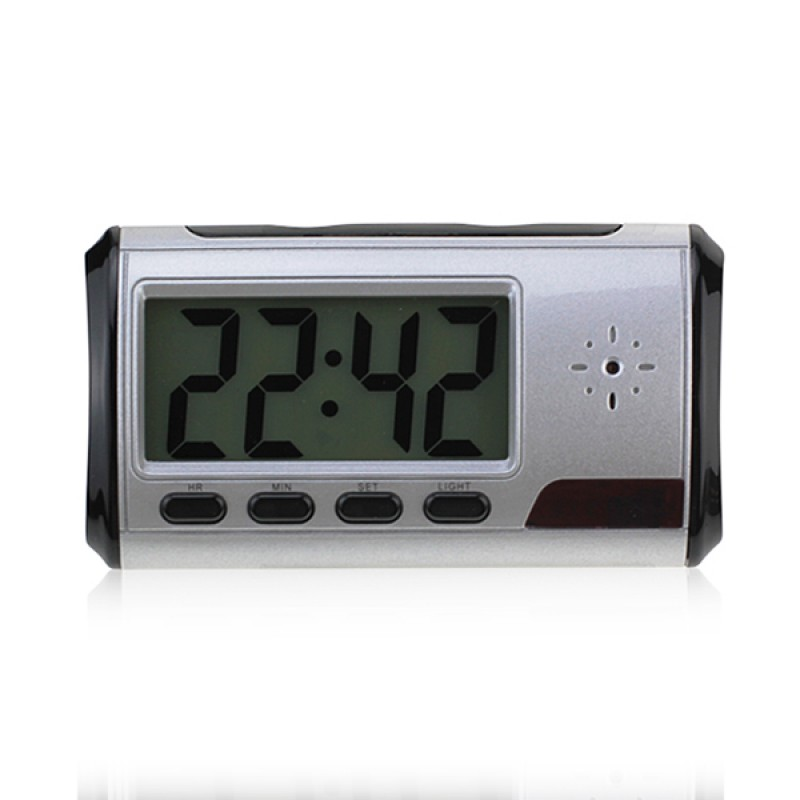 HD-MD01 Digital Clock Spy Camera with Motion Detection
