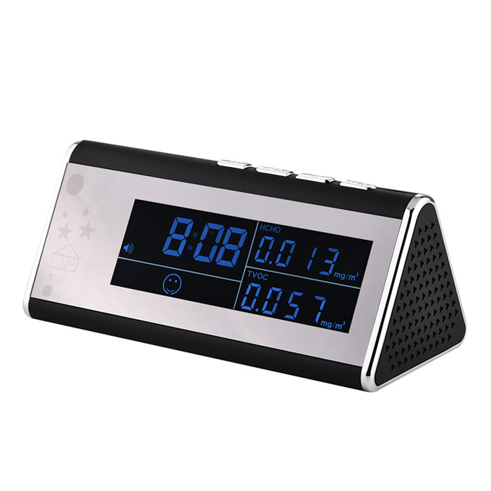 T12 Alarm clock with FULL HD WIFI camera and air quality monitoring