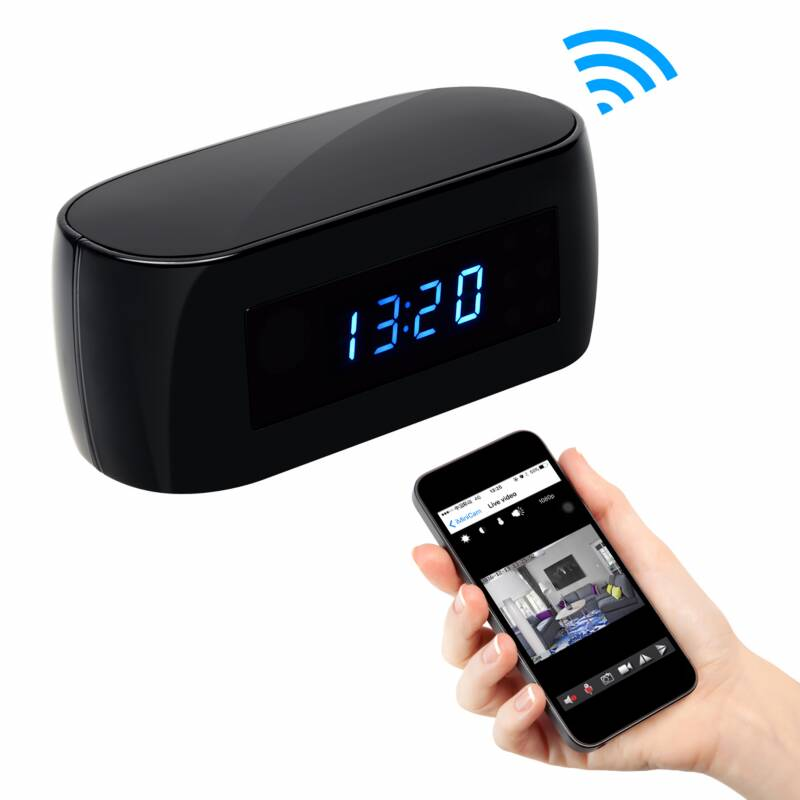 Z16 1080P wifi camera  Clock with 10 meters night vision