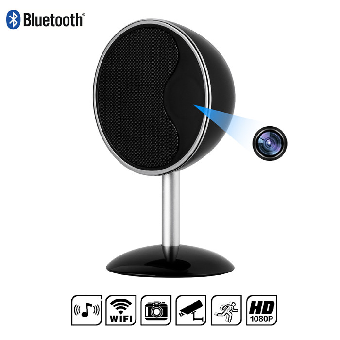Y10 Bluetooth Speaker Hidden Camera with Night Vision WiFi Remote View