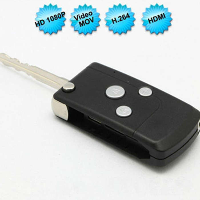 C9A Newest Full HD 1080P Mini Camera Car Key