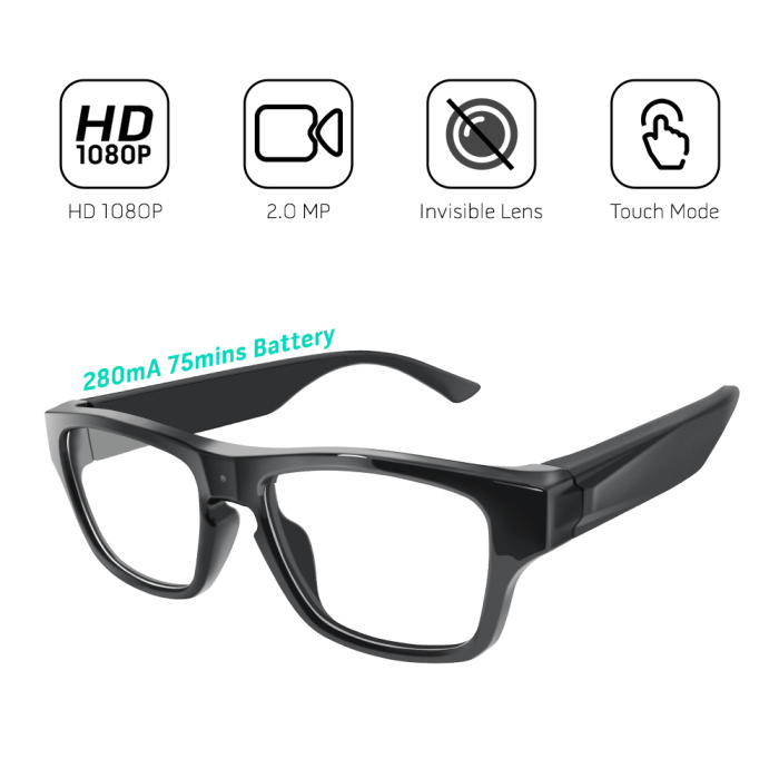 G05S HD 1080P glasses spy video camera