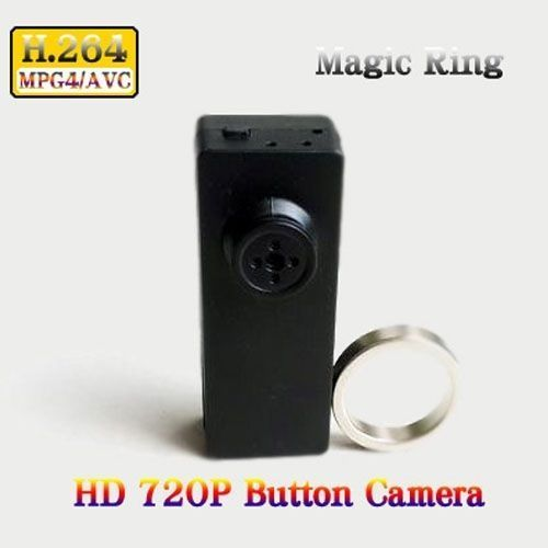 S520 Magic Ring 720P H.264 Button Camera
